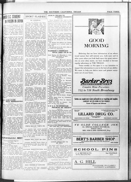 The Southern California Trojan, Vol. 11, No. 70, March 15, 1920