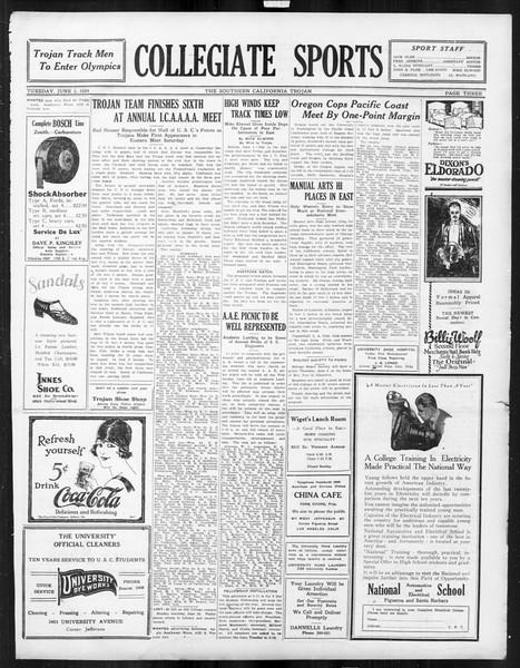 The Southern California Trojan, Vol. 15, No. 93, June 03, 1924