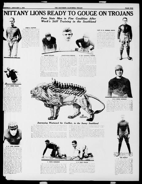 The Southern California Trojan, Vol. 14, No. 41, January 01, 1923
