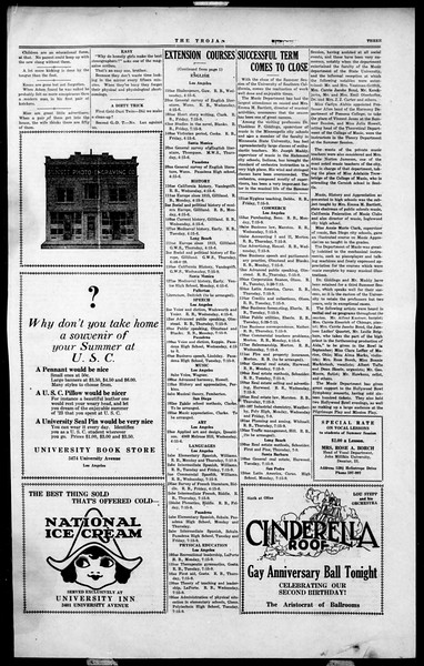 The Southern California Trojan, Vol. 2, No. 11, August 10, 1923