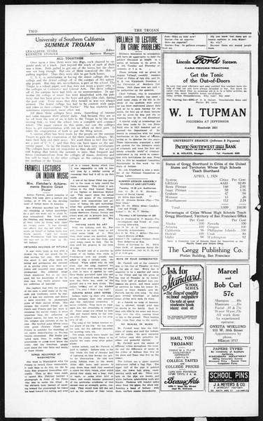 The Southern California Trojan, Vol. 3, No. 4, July 11, 1924