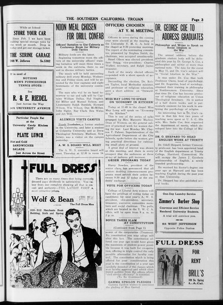 The Southern California Trojan, Vol. 8, No. 105, May 02, 1917