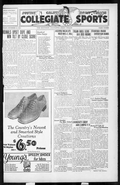 Daily Trojan, Vol. 17, No. 24, October 19, 1925