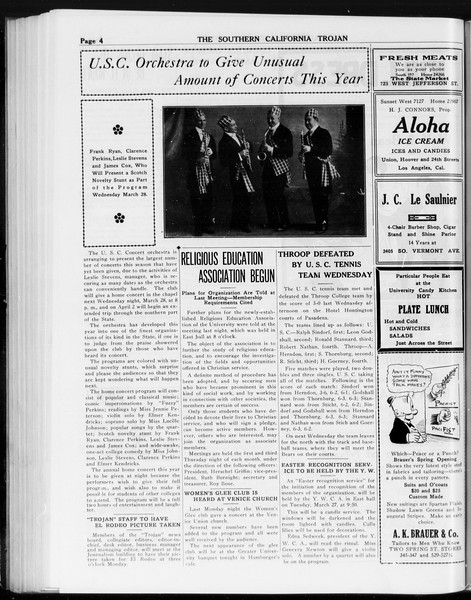 The Southern California Trojan, Vol. 8, No. 87, March 23, 1917