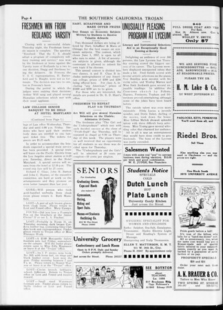 The Southern California Trojan, Vol. 7, No. 113, May 09, 1916