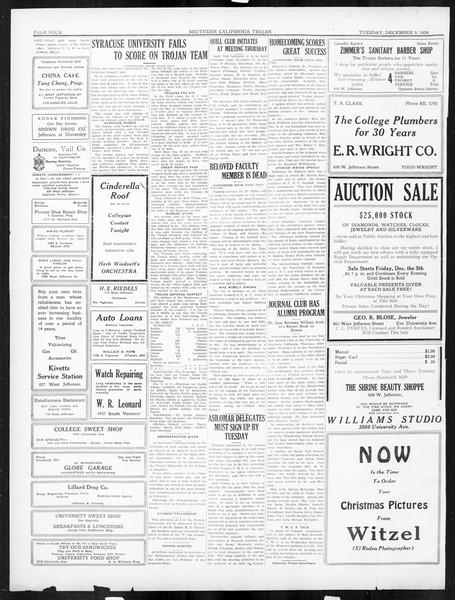The Southern California Trojan, Vol. 16, No. 30, December 09, 1924