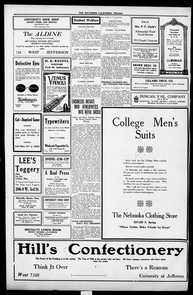The Southern California Trojan, Vol. 13, No. 19, November 15, 1921