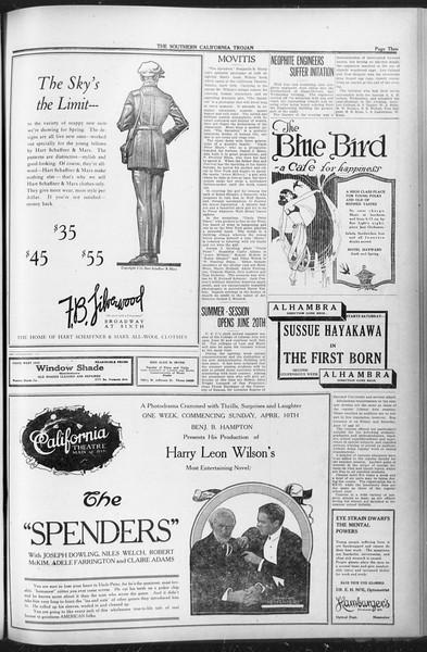 The Southern California Trojan, Vol. 12, No. 70, April 08, 1921