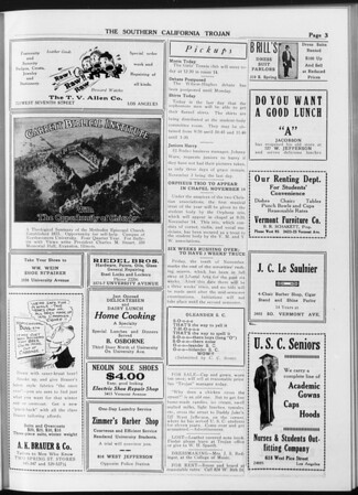 The Southern California Trojan, Vol. 8, No. 27, November 02, 1916
