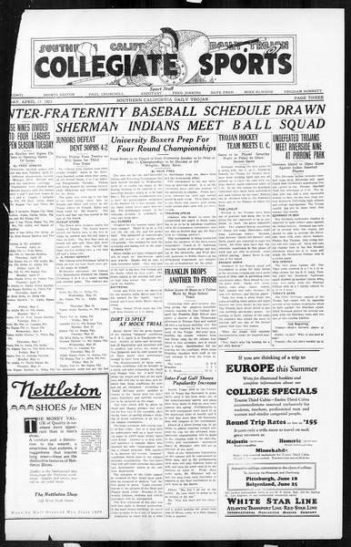 Daily Trojan, Vol. 16, No. 86, April 17, 1925