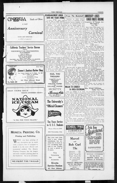 The Southern California Trojan, Vol. 3, No. 10, August 01, 1924