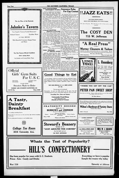The Southern California Trojan, Vol. 13, No. 5, September 30, 1921