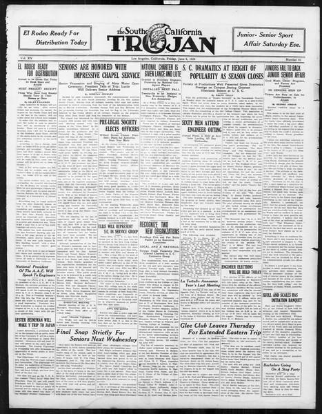 The Southern California Trojan, Vol. 15, No. 95, June 06, 1924