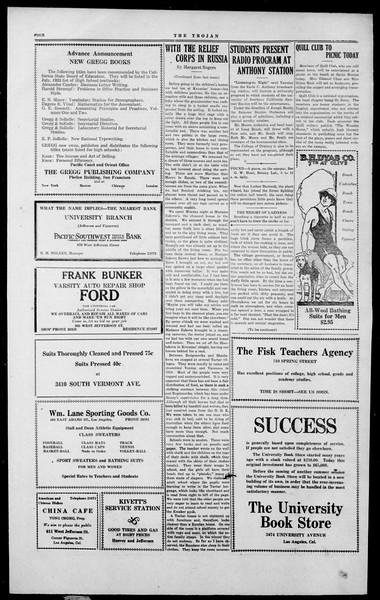 The Southern California Trojan, Vol. 2, No. 5, July 20, 1923