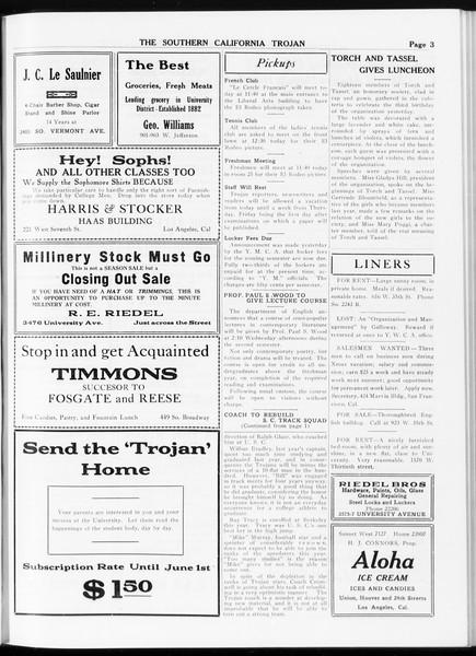 The Southern California Trojan, Vol. 8, No. 60, January 24, 1917
