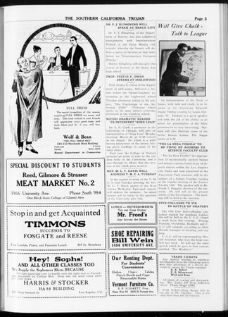 The Southern California Trojan, Vol. 8, No. 79, March 09, 1917