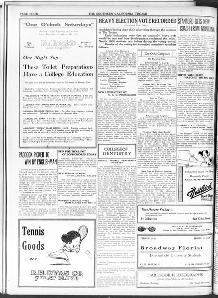The Southern California Trojan, Vol. 11, No. 94, May 12, 1920