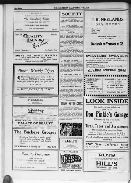 The Southern California Trojan, Vol. 12, No. 12, October 14, 1920