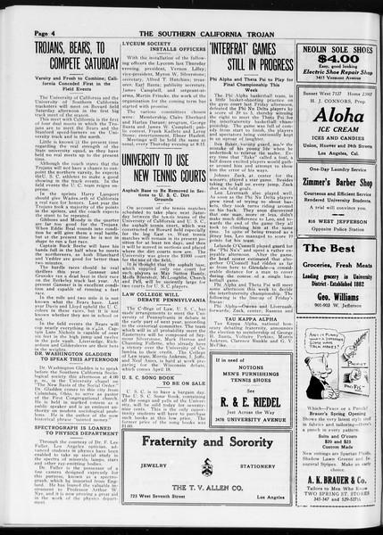 The Southern California Trojan, Vol. 8, No. 80, March 13, 1917