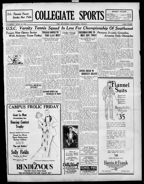 The Southern California Trojan, Vol. 15, No. 76, April 24, 1924