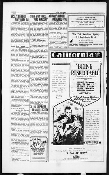 The Southern California Trojan, Vol. 3, No. 5, July 15, 1924