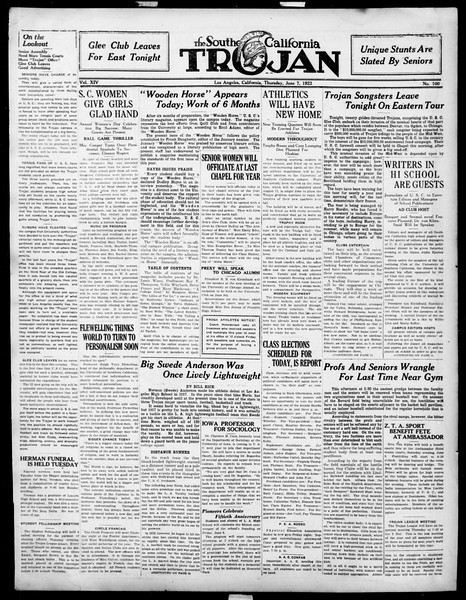 The Southern California Trojan, Vol. 14, No. 100, June 07, 1923