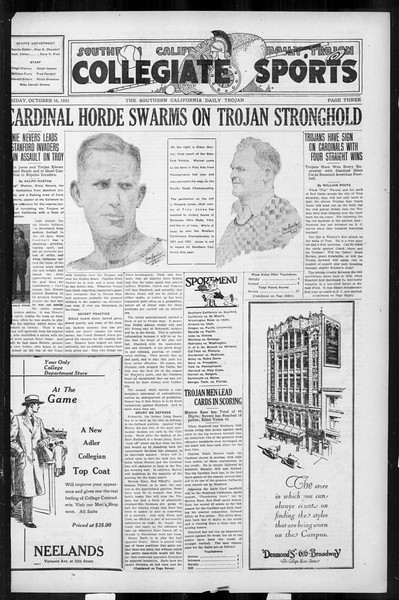 Daily Trojan, Vol. 17, No. 23, October 16, 1925