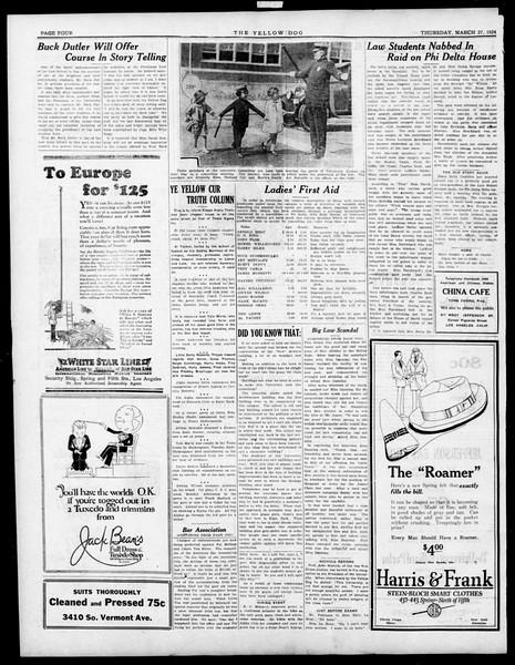 The Southern California Trojan, Vol. 15, No. 67, March 27, 1924
