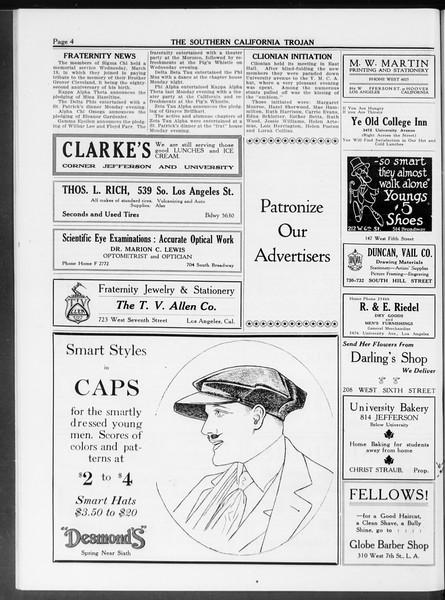 The Southern California Trojan, Vol. 10, No. 9, March 21, 1919