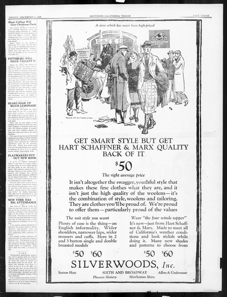 The Southern California Trojan, Vol. 16, No. 29, December 05, 1924