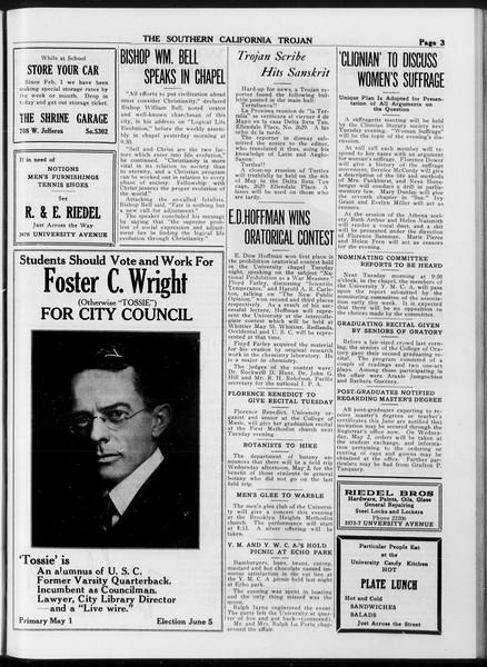 The Southern California Trojan, Vol. 8, No. 103, April 27, 1917