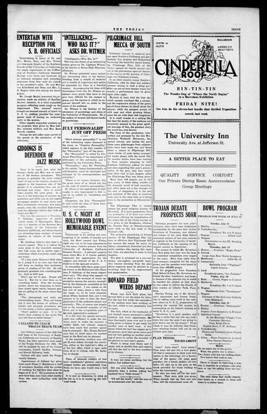 The Southern California Trojan, Vol. 2, No. 4, July 17, 1923