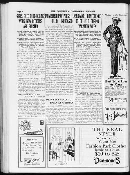 The Southern California Trojan, Vol. 8, No. 34, November 17, 1916