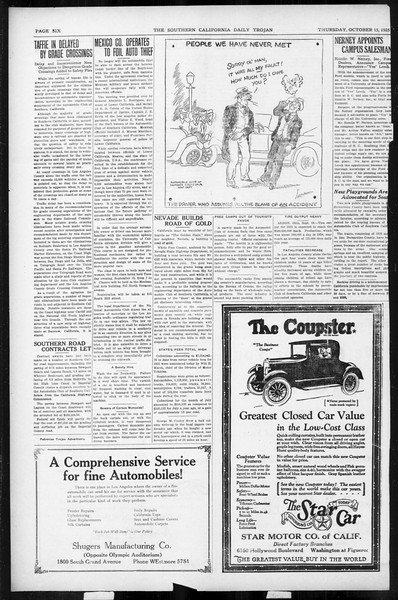 Daily Trojan, Vol. 17, No. 22, October 15, 1925