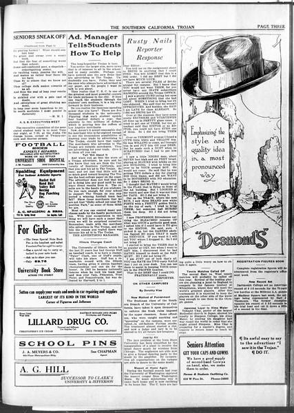 The Southern California Trojan, Vol. 11, No. 66, March 06, 1920
