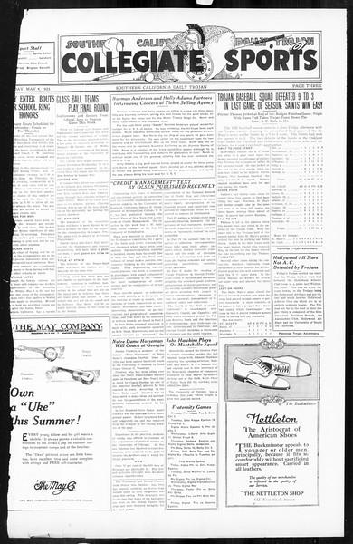 Daily Trojan, Vol. 16, No. 97, May 04, 1925