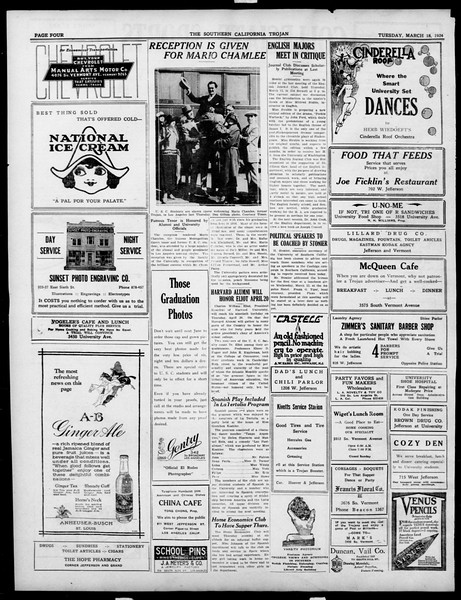 The Southern California Trojan, Vol. 15, No. 63, March 18, 1924
