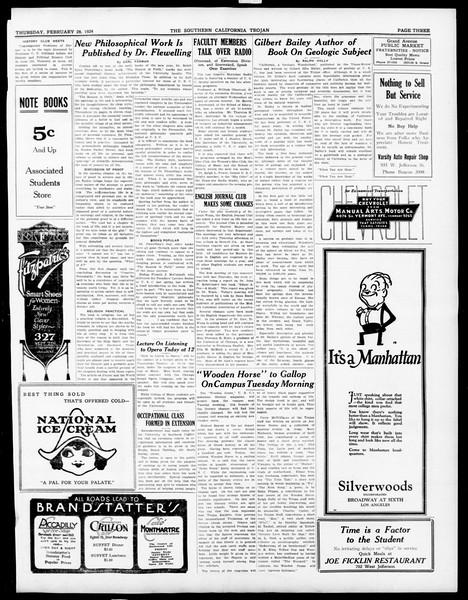 The Southern California Trojan, Vol. 15, No. 55, February 28, 1924