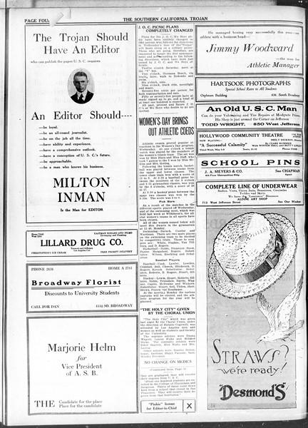 The Southern California Trojan, Vol. 11, No. 92, May 07, 1920