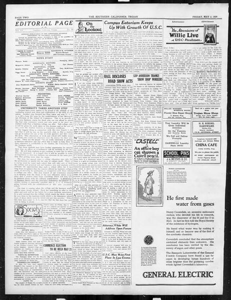 The Southern California Trojan, Vol. 15, No. 80, May 02, 1924