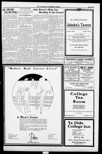 The Southern California Trojan, Vol. 13, No. 10, October 18, 1921