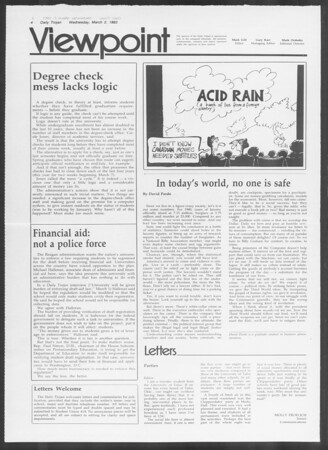 Daily Trojan, Vol. 93, No. 34, March 02, 1983