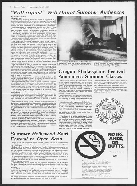 Summer Trojan, Vol. 91, No. 69, May 26, 1982