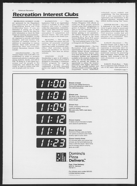 Daily Trojan, Vol. 97, No. 1, August 28, 1984