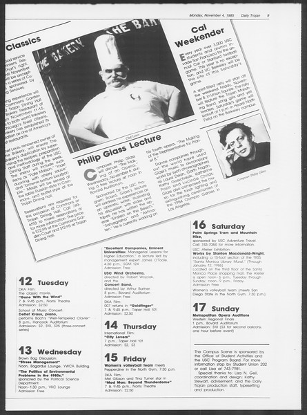 Daily Trojan, Vol. 100, No. 45, November 04, 1985