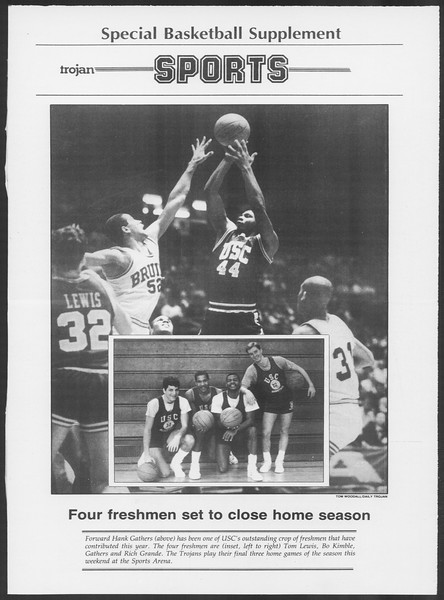 Daily Trojan, Vol. 100, No. 28, February 20, 1986