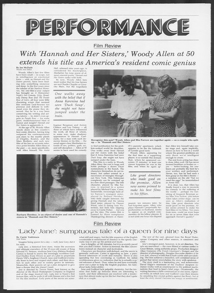 Daily Trojan, Vol. 100, No. 21, February 07, 1986