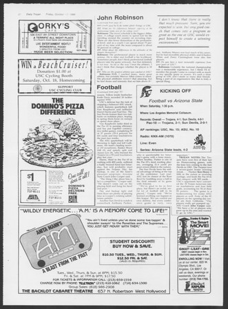 Daily Trojan, Vol. 102, No. 34, October 17, 1986
