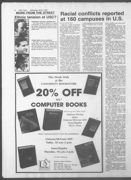 Daily Trojan, Vol. 108, No. 51, April 05, 1989