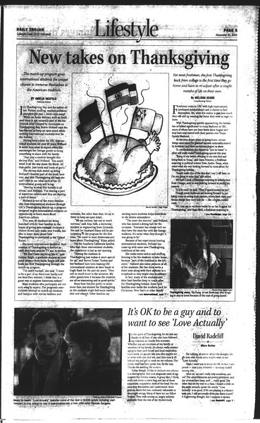 Daily Trojan, Vol. 150, No. 64, November 25, 2003
